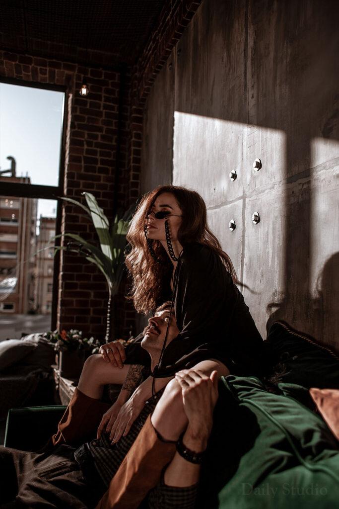urban, фотосессия с солнечными лучами