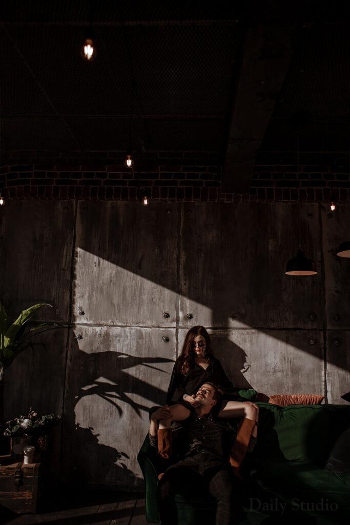 urban, fashion фотосессия, солнечный свет в фотостудии