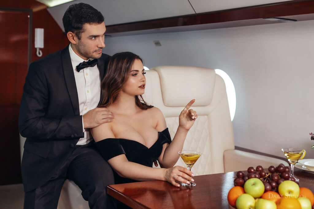 фотосессия в самолете, фотосессия в частном самолете спб, салон самолета для фотосессии, love story в самолете, новогодняя фотосессия в самолете , красивая фотосессия, необычная фотосессия