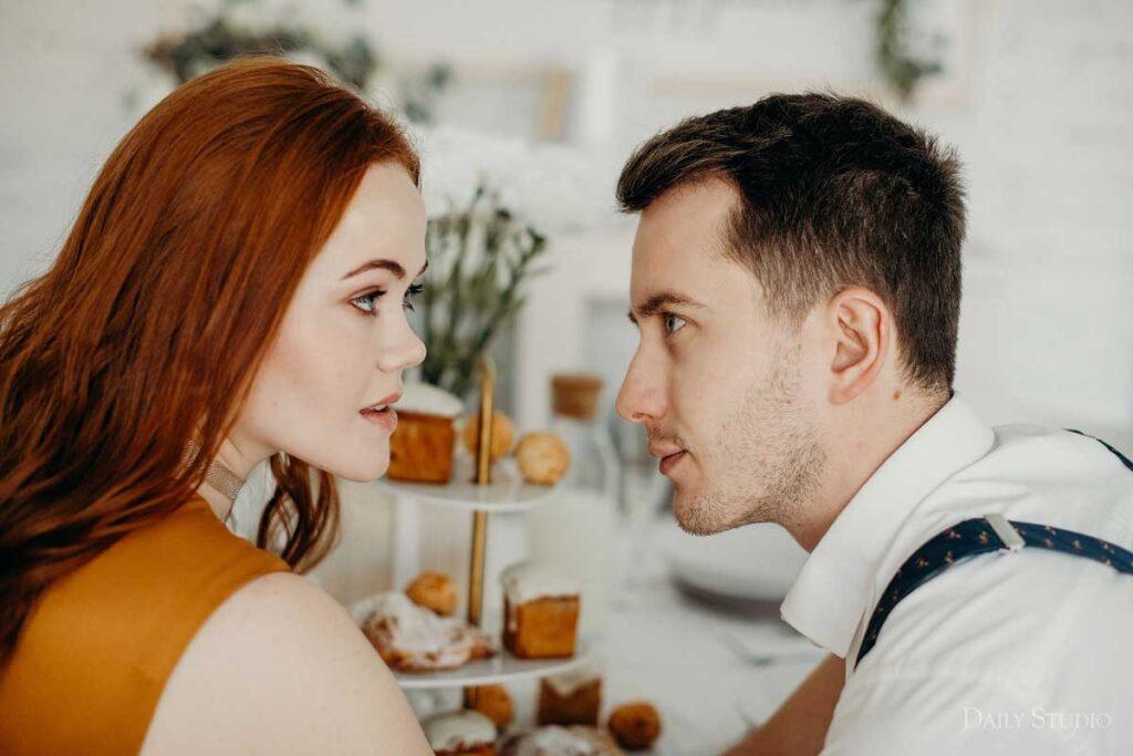 Soft, love story в фотостудии