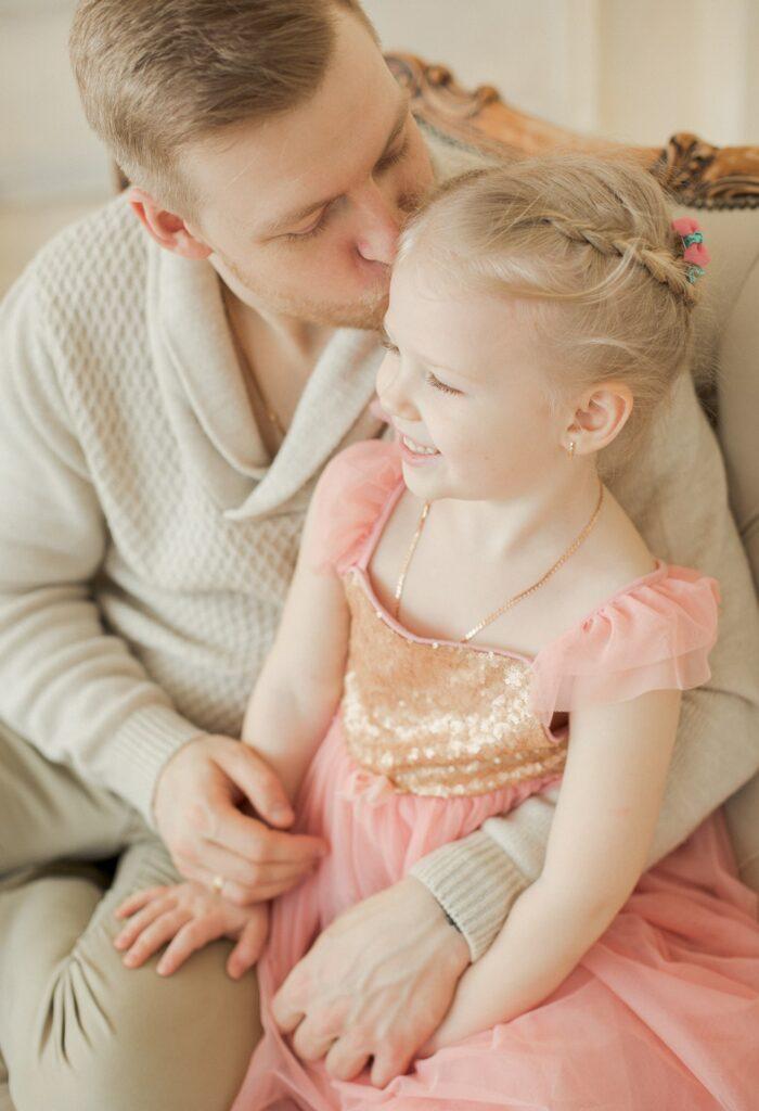 фотосессия папа и дочка, семейная фотосессия в спб