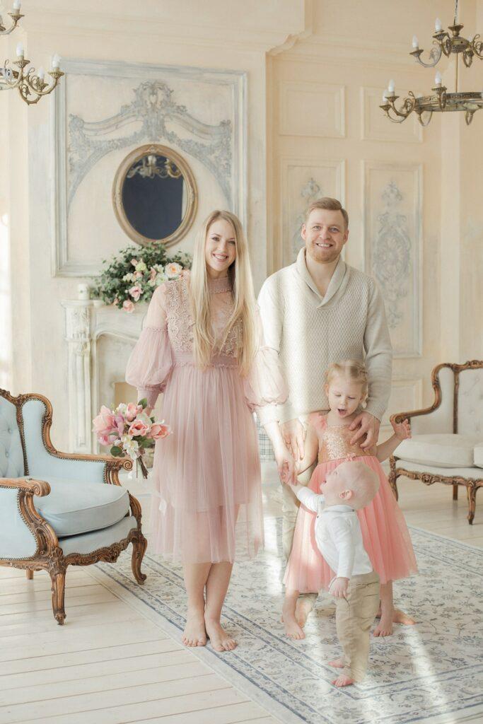 семейные фотосессии с детьми, семейная фотосессия недорого