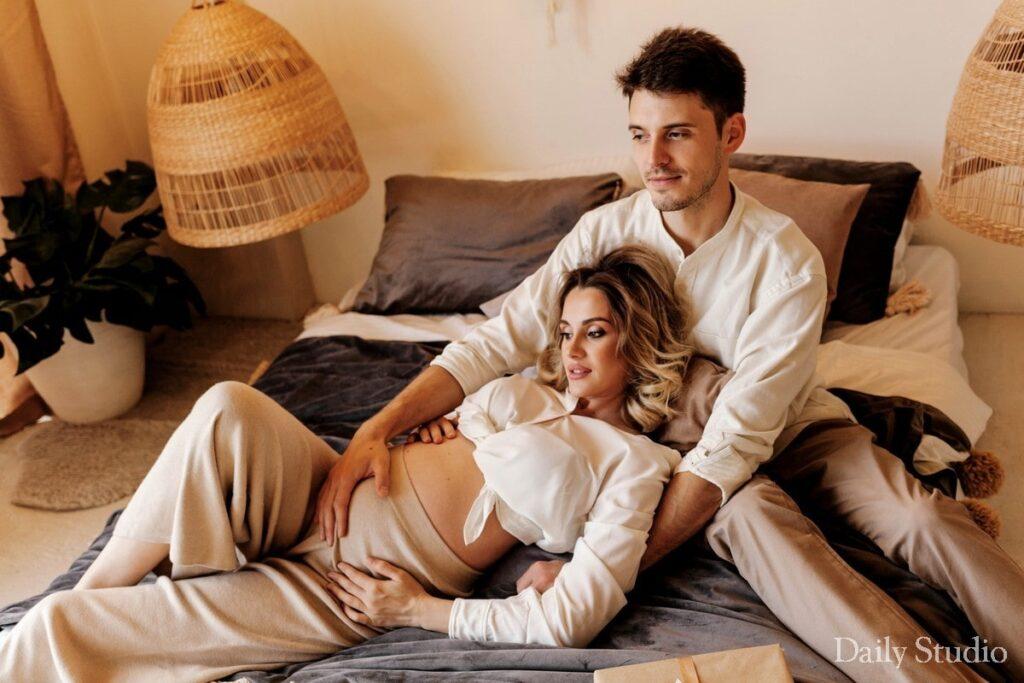 фотосессия беременных с мужем спб