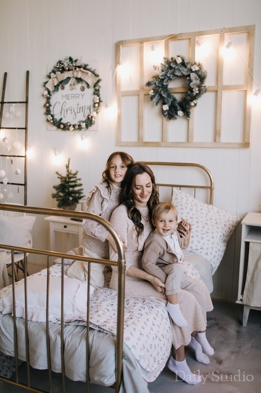 фотосессия мама с детьми, фотосессия мама и малыш