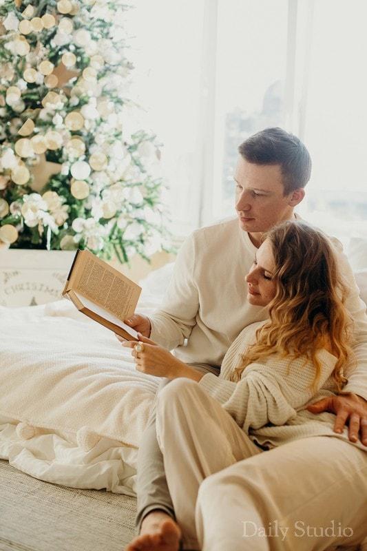 фотосессия с книгами, романтическая фотосессия