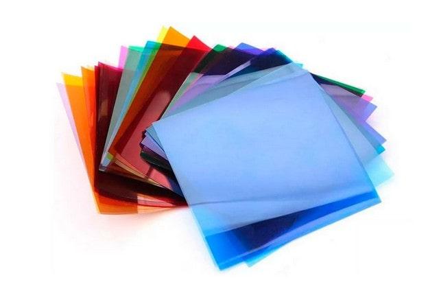 Фильтры цветные в тубусе (большой ассортимент цветов)