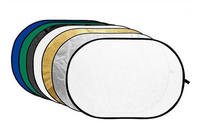 Отражатель ростовой 120х160 см (золото, серебро, черный, синий, зеленый)