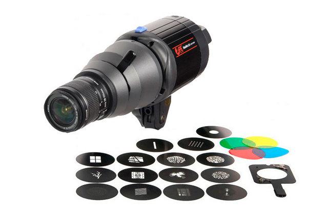 Оптическая насадка для масок Gobo (маски Gobo в комплекте, 15 шт)